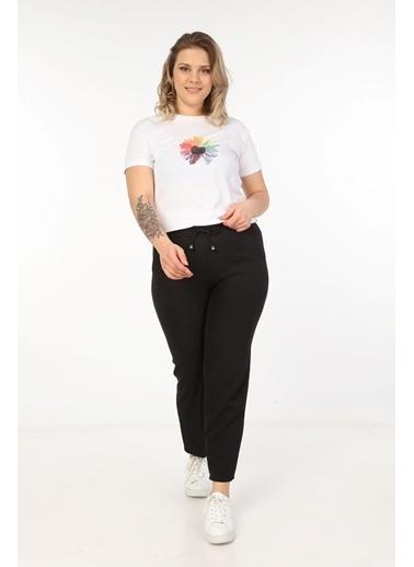 Womenice Pantolon Siyah